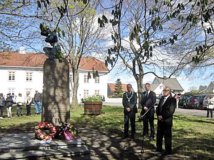 70 år siden bombingen av Vallø