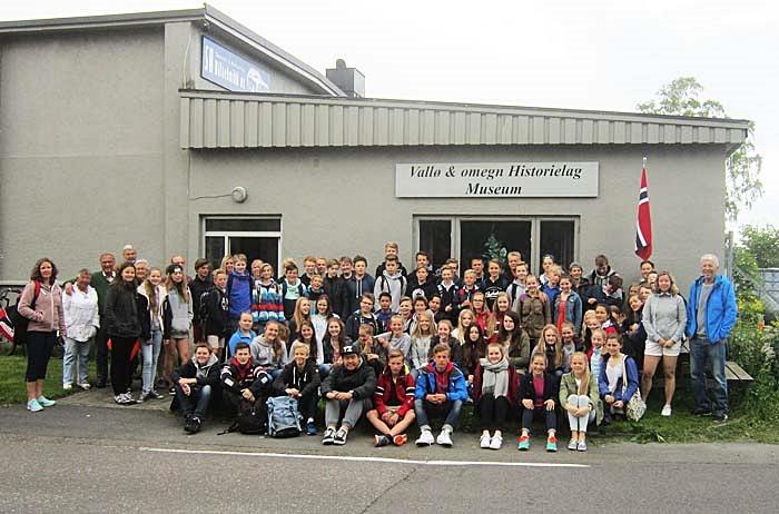 Aktiv undervisningsuke i Vallø & omegn Historielag